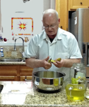 Larry Slicing Pickles