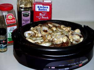 Beef Roast (or Brisket) with 40 Cloves of Garlic ...