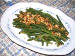Green Beans with Toasted Nuts