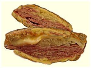 Reuben Sandwich Halves