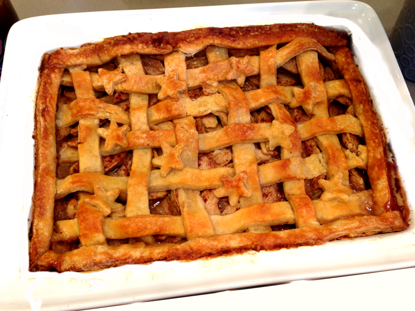 Apple Pie with Lattice Top