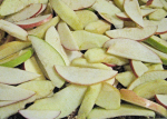 Sliced Johnathan and Granny Smith Apples