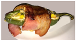 Cheddar and Bacon Jalapeno Popper