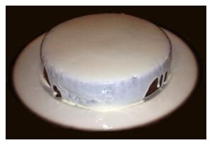 Glazed Applesauce Cake