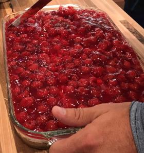 Homemade Cherry Cheesecake Casserole